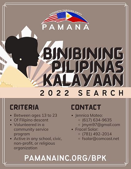 Binibining Pilipinas Kalayaan 2022 Searc