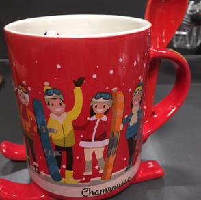 Mug hiver à Chamrousse