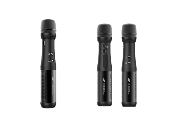 Беспроводной ручной микрофон с динамиком