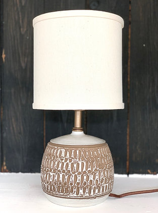 Hand Carved Lamp