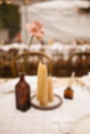 fdpottery-wedding centerpiece-photo by r