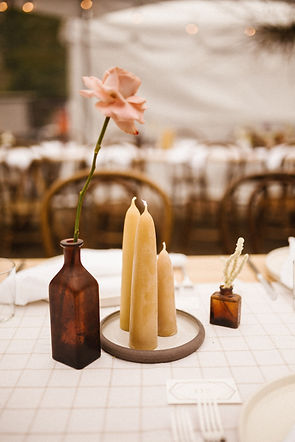 fdpottery-wedding centerpiece-photo by r