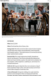 fdpottery-new york times wedding section