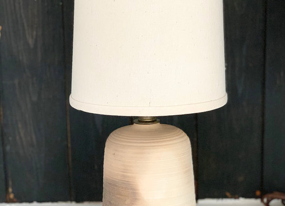 Wood Fired Cylindrical Lamp