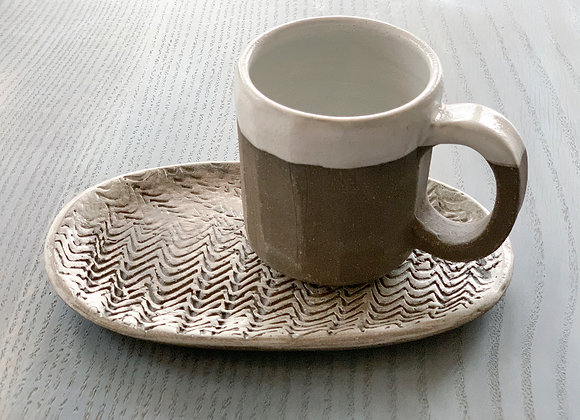 Cup and Cookie Plate Set