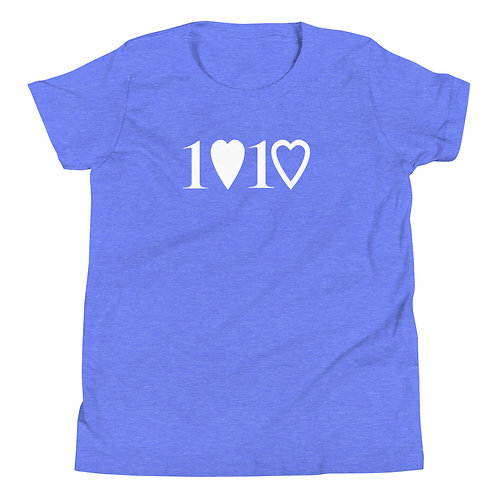 1 Love 1 Heart Youth T-Shirt