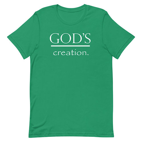 God's Creation.  Adult T-Shirt