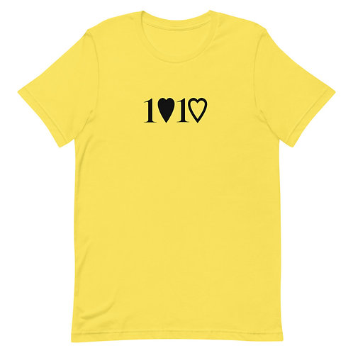 1 Love 1 Heart Adult T-Shirt