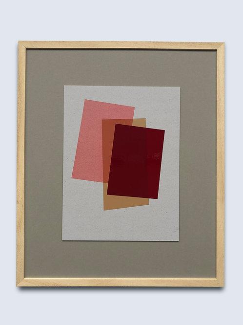 UNFOILED paper medium framed