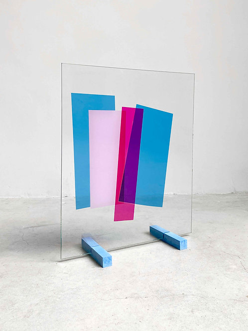 UNFOILED glass 50x60