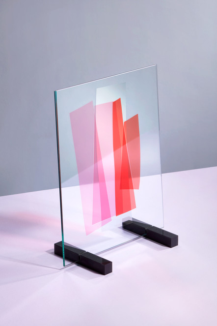 UNFOILED glass