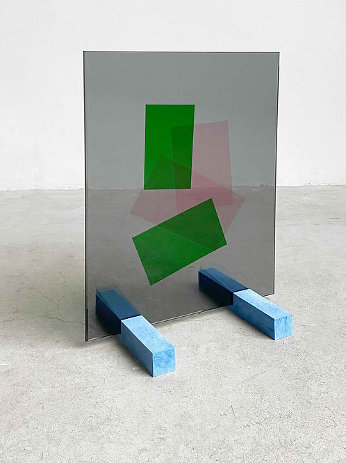 UNFOILED glass 30x40