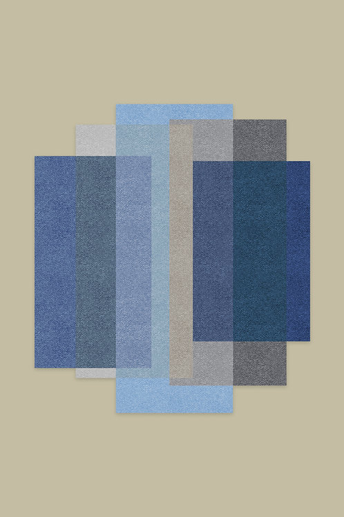 BLENDED 5 Colours Cloudy Blue