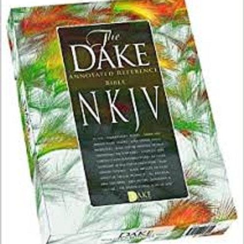 NKJV Dake's Annotated Reference Bible