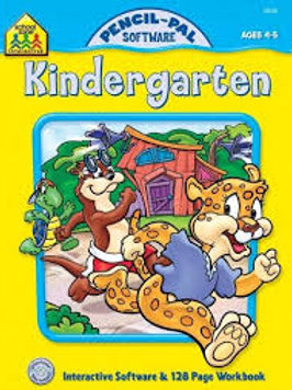 Kindergarten Pencil-Pal Software AGES 4-5