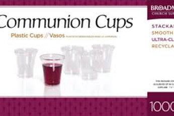 Plastic Communion Cups (1000pcs)