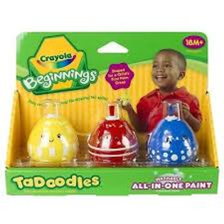 Crayola Beginnings Tadoodles Washable All-in-one Paint