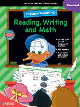 Picture Learning Reading, Writing, and Math Preschool