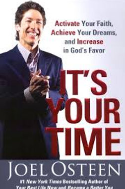 It's Your Time papercover