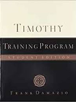 Timothy Training Program Student