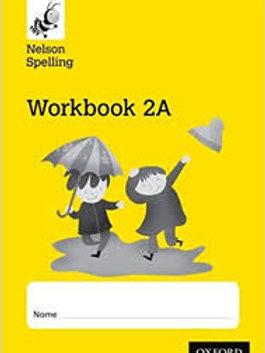 Nelson Spelling Workbook 2a