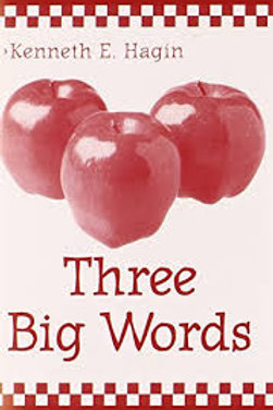 Three Big Words