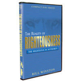REALITY OF RIGHTEOUSNESS-DVD