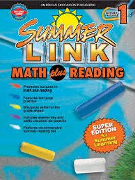 Summer Link Math Plus Reading 1