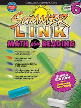 Summer Link Math Plus Reading 6
