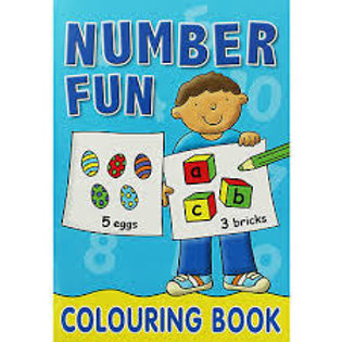 Alphabet Fun (Colouring Book)