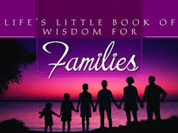 Life's Little Book Of Wisdom For Famlies