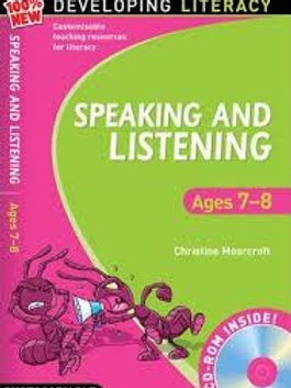 Speaking and Listening: Ages 7-8