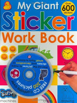 My Giant Sticker Workbook With CD