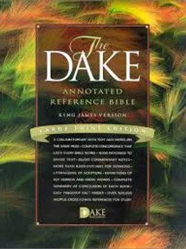 Dake Annotated Ref Bible LP BURG