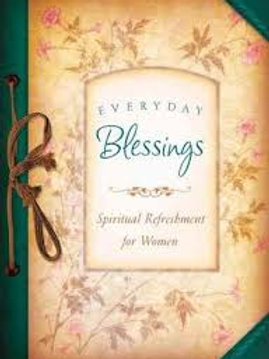 Everyday Blessings Spiritual Refreshment for Women