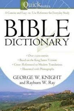 Quicknotes Bible Dictionary