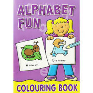 Alphabet Fun Colouring Book