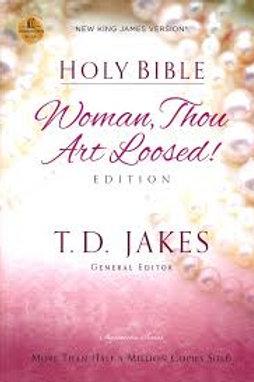 NKJV, Woman Thou Art Loosed, Hardcover