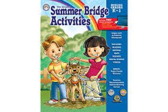 Summer Bridge Activities Grades K To 1
