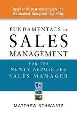 Fundamentals of Sales Management for...