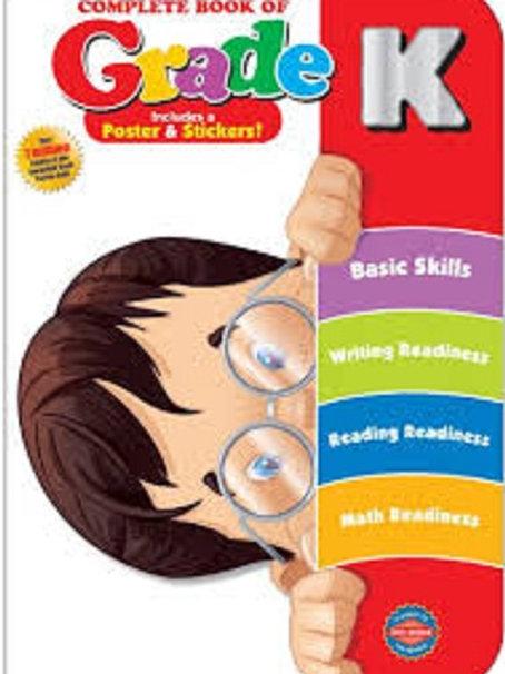 Complete Book of Kindergarten, Grade K