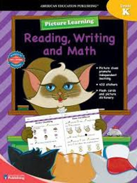 Picture Learning Reading, Writing... Grade K