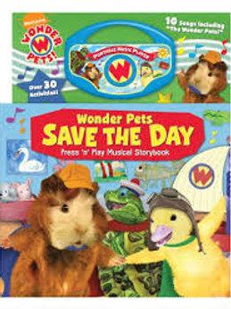 Wonderpets Adventures: Book Mag Play T