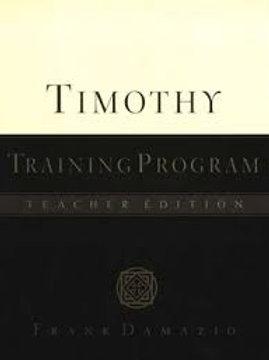Timothy Training: Teacher's Manual