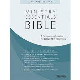 Ministry Essentials Bible-KJV