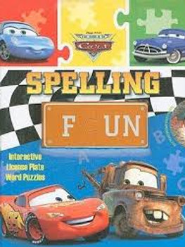 The World of Cars Spelling Fun