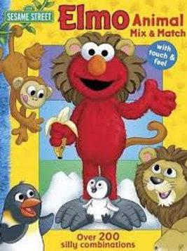 Elmo Animal Mix and Match