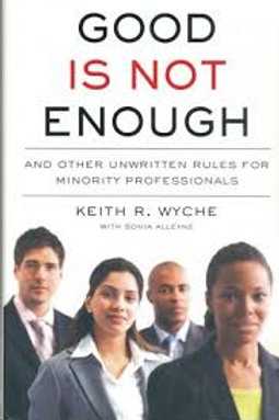 GOOD IS NOT ENOUGH, HARD COVER