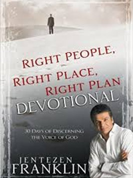 Right People Right Place Right Plan Devotional