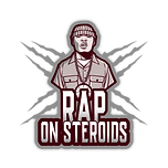 RAP ON STEROIDS NEW LOGO WITH ICON TRANS